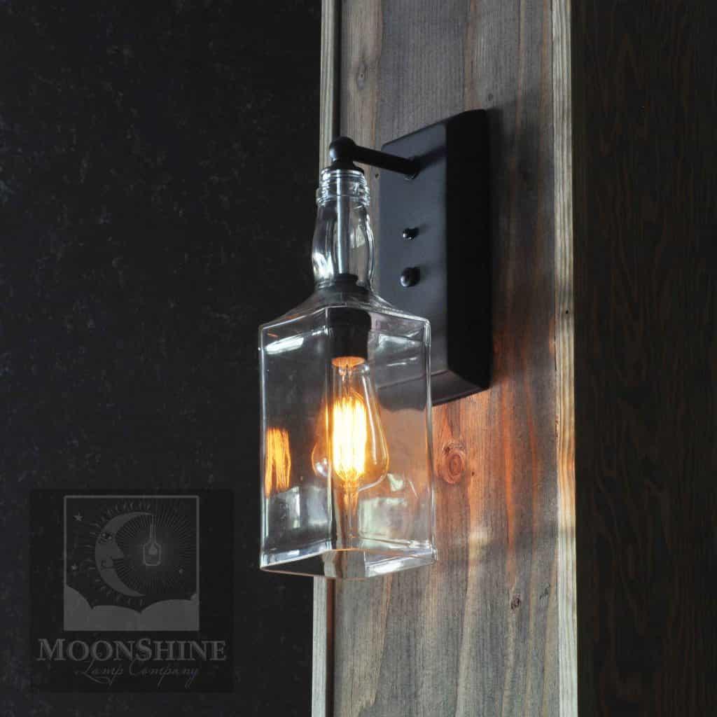 Lamp Com: Whiskey Bottle Wall Sconce