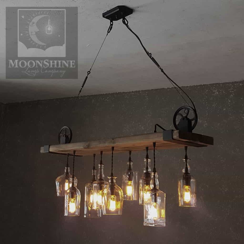 led fixtures light with on sleeper lights chandelier reclaimed by wood pin interior farmhouse lighting beam fixture etsy edison barn industrial rustic pendant