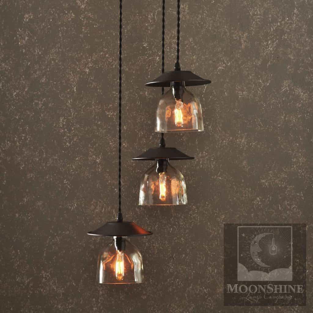 The Serenity 3 Light Hanging Pendant Chandelier